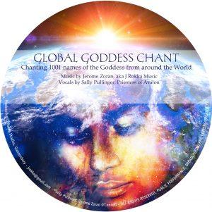 Global Goddess Chant CD by Sally Pullinger