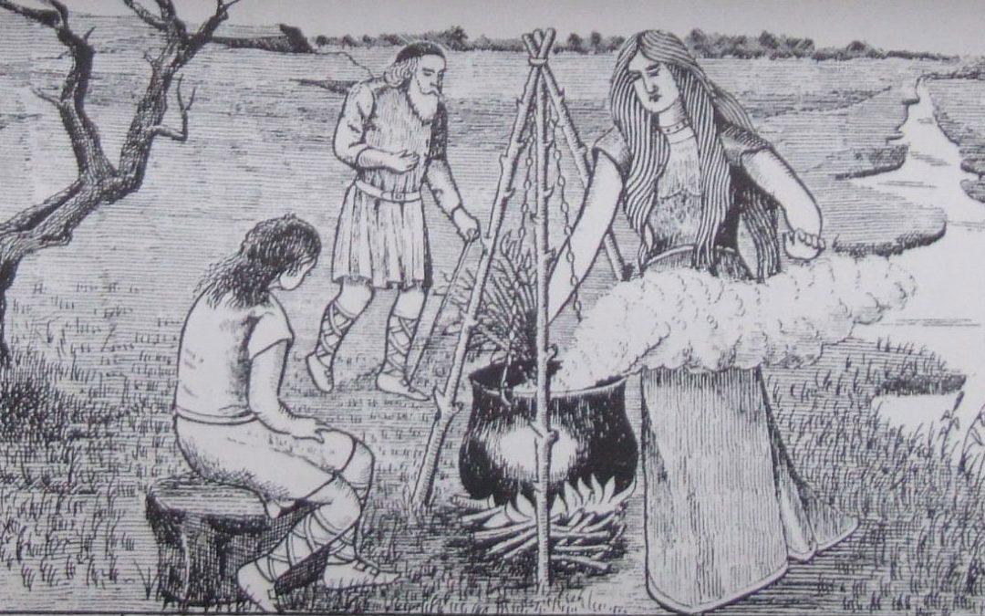 Ceridwen and her Cauldron